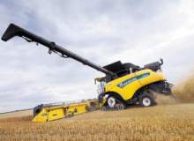 New Holland Agriculture sets world record for wheat harvesting