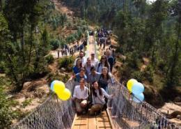 New footbridge to boost agri-commerce in Rwanda's Rutsiro municipality