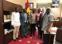 GODAN conducts high-level agricultural policy meetings in Ghana
