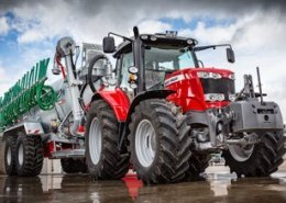 The debut of the Massey Ferguson MF 6718 S, first 200HP four-cylinder tractor