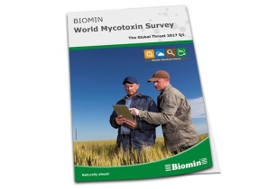 Biomin mycotoxin survey indicates higher mycotoxin risks in corn and feed in 2017