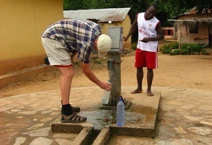 Ghana water availability