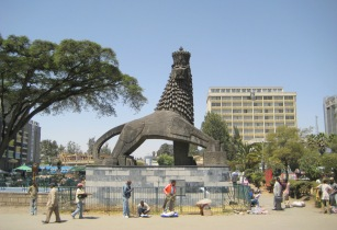 Lion of Judah Addis Ababa Ethiopia
