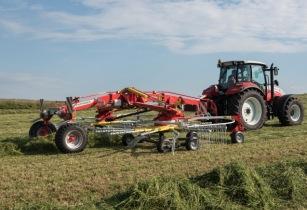 Pöttinger launches new centre-swath rake
