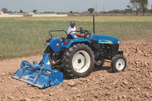 The New Holland TT35 compact tractor. (Image source: New Holland)