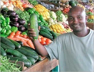 varieties, vegetables, African, farmers, farming, AVRDC, disease, yield, harvests