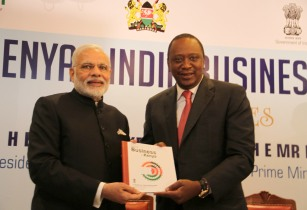 Prime Minister Narendra Modi at India Kenya Business Meet